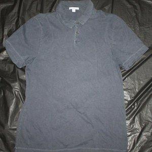 James Perse Standard 2 Mens Short Sleeve Polo Shir